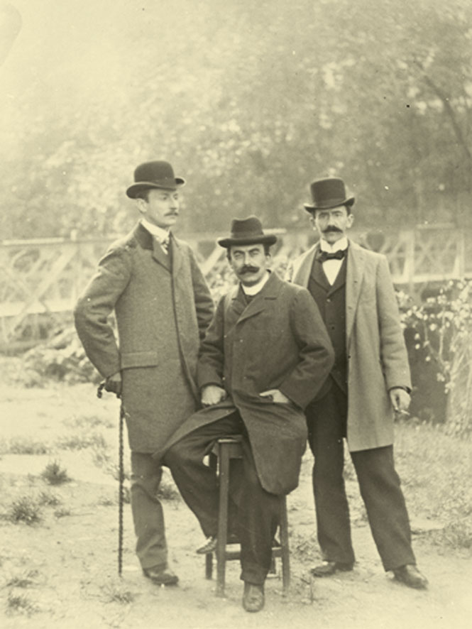 1895 - Founding fathers : Martin Naef, Philippe Chuit, Fred Firmenich