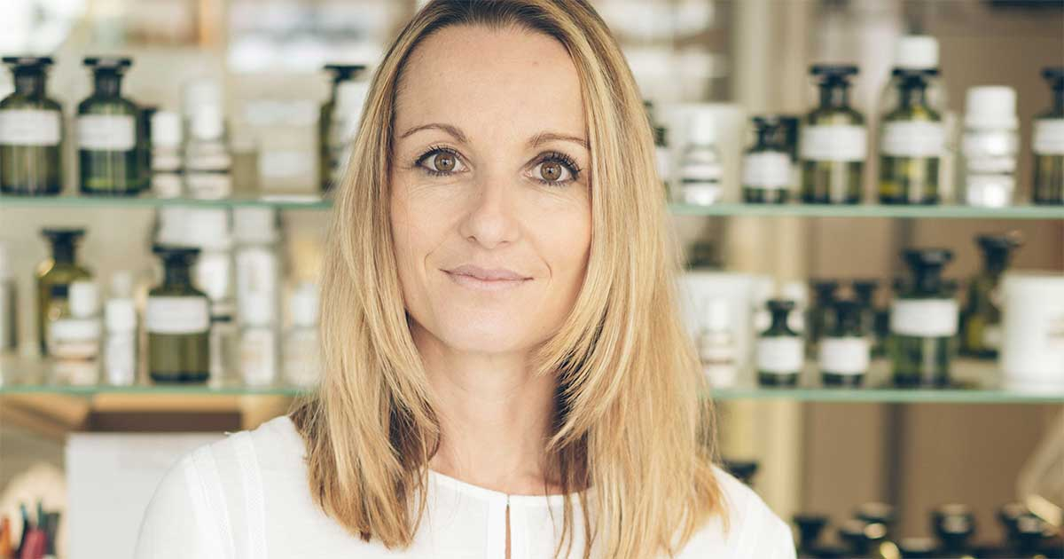 """Irène Farmachidi : """"In 100% natural perfumery, we formulate by using paraphrases, it's like a game"""""""